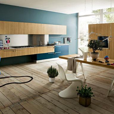 Italian Kitchens (by EFFEQUATTRO - Elle) - evaa