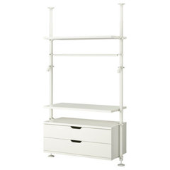 modern closet organizers by IKEA