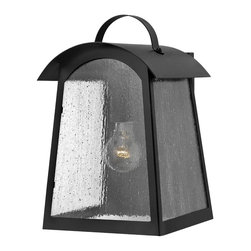 Hinkley Lighting - Hinkley Lighting 2654BK Black 13.25 Height 1 Light Lantern Outdoor Wall Sconce f - Hinkley Lighting 265 Putney Bridge Outdoor Wall Sconce Putney Bridge is a classic Shaker-inspired style constructed of durable solid aluminum. The gen
