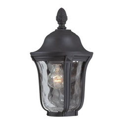 Minka-Lavery - Minka-Lavery Ardmore 1-Light Outdoor Pocket Lantern - 8988-66 - This 1-Light Outdoor Foyer Hall Fixture has a Black Finish and is part of the Ardmore Collection.