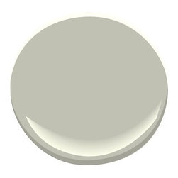 Horizon Gray 2141-50 Paint - Gray with just a hint of green, this muted shade evokes a misty harbor setting, adding a welcome dose of tranquility to any room.