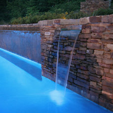 Modern Hot Tub And Pool Supplies by Preferred Pools Inc.