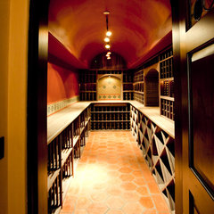 wine cellar by Kathleen McMullen Coady