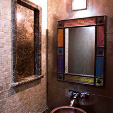 Asian Powder Room by Anish Motwani Associates