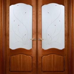 """Prefinished Interior Double Door African Sapele Veneer Frosted glass - SKU#Desta-Verra-2BrandValdoDoor TypeInteriorManufacturer CollectionTraditional European Interior DoorsDoor ModelDoor MaterialWoodWoodgrainAfrican SapeleVeneerNatural African Sapele Wood VeneerPrice1341Door Size Options2(24"""") x 80"""" (4'-0"""" x 6'-8"""")  $02(30"""") x 80"""" (5'-0"""" x 6'-8"""")  $02(32"""") x 80"""" (5'-4"""" x 6'-8"""")  $02(36"""") x 80"""" (6'-0"""" x 6'-8"""")  $0Core TypeSwedish HoneycombDoor StyleTraditionalDoor Lite StyleArch LiteDoor Panel StyleHome Style MatchingPlantation , Victorian , Bay and GableDoor ConstructionPrehanging OptionsPrehung , SlabPrehung ConfigurationDouble DoorDoor Thickness (Inches)1.375Glass Thickness (Inches)1/4Glass TypeSingle GlazedGlass CamingGlass FeaturesGlass StyleDecorative Frosted. Stained glass fusingGlass TextureGlass ObscurityDoor FeaturesDoor ApprovalsDoor FinishesPrefinished; natural East African Sapele wood veneerDoor AccessoriesWeight (lbs)680Crating Size25"""" (w)x 108"""" (l)x 52"""" (h)Lead TimePrefinished Slab Doors: 7 daysPrefinished Prehung:14 daysWarranty2 Year Limited Manufacturer WarrantyHere you can download warranty PDF document."""