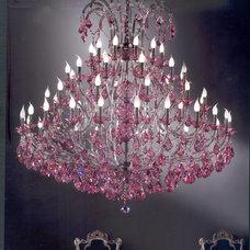 Traditional Chandeliers by Murano Art Glass Australia