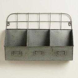 Metal Thomas Cubby Wall Storage -