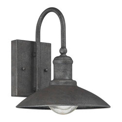 Savoy House - Savoy House-5-5030-1-32-Mica - Two Light Outdoor Wall Lantern - Savoy House's Mica outdoor wall lanterns feature industrial lantern styling and a textured Artisan Rust finish for a touch of rustic inspiration.