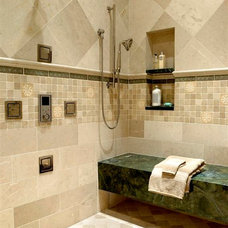 Traditional Bathroom by Michael Hershenson Architects
