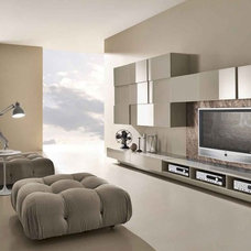 Modern Entertainment Centers And Tv Stands by Casa Spazio