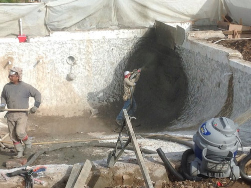 Precast coping vs poured in place concrete for pool coping for Precast basement walls vs poured