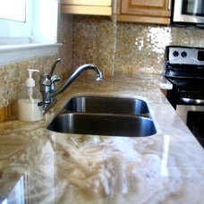 Contemporary Kitchen Countertops by Marble Trend