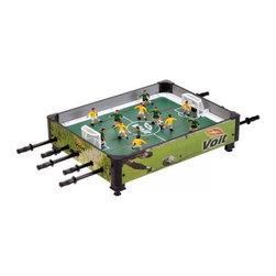 "Voit 33"" Table Top Rod Soccer Game - -Classic Rod Table Top Game - Retro and Fun!"