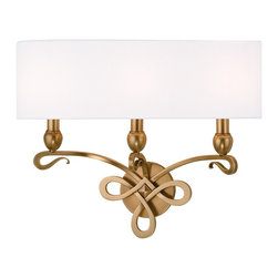 Hudson Valley Lighting - Hudson Valley Lighting Pawling Traditional Bathroom / Vanity Light X-BGA-3127 - A perfect duet of poise and energy, Pawling's looping metal scrollwork transposes the charm of classic design onto a forward-looking collection. The wispy finish of the gracefully sweeping arms makes a memorable fashion statement that is sure to be coveted for ages hence.