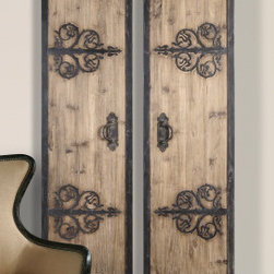 "7630 Traditional Alternative wall decor by uttermost - Get 10% discount on your first order. Coupon code: ""houzz"". Order today."