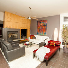 Contemporary Living Room by Whitney Lyons