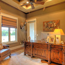 Traditional Home Office by Garner Homes