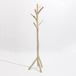 Great Camp Coat Stand - One of my favorite coat racks (but oh so pricey!), this feels perfectly organic in any entryway.