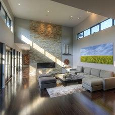 Contemporary Windows by Duxton Windows & Doors