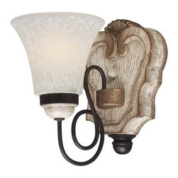 "Minka Lavery - Minka Lavery 1291 1 Light 8.5"" Height Bathroom Sconce from the Accents Provence - Single Light 8.5"" Height Bathroom Sconce from the Accents Provence CollectionFeatures:"