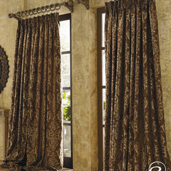 mediterranean curtains by Softline Home Fashions