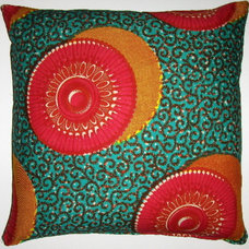 Eclectic Pillows by Fabricadabra