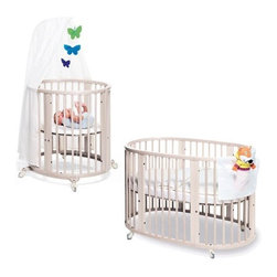 Stokke Sleepi Bassinet And Crib Set In White The
