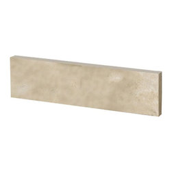 Pegasus - Pegasus 20 in. W Sidesplash in Ivory Select (42996) - 20 in. W Sidesplash in Ivory Select Travertine