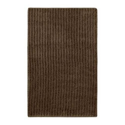 "Garland Rug - Bath Mat: Accent Rug: Sheridan Chocolate 24"" x 40"" Bathroom - Shop for Flooring at The Home Depot. Beautify your bathroom and make your feet happy with Sheridan Bath Rugs. These rugs will compliment any bathroom decor. The distinctive stripe pattern gives a modern, but yet traditional sleek design. Sheridan is made with 100% Nylon for superior softness and colorfastness. Proudly made in the USA."