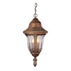 Trans Globe - Trans Globe 4923 ABZ 3-Light Hanging Lantern - Trans Globe 4923 ABZ 3-Light Hanging Lantern