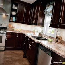 Traditional Kitchen Cabinets by Juliana Andrade - Kitchen Craft Cabinetry