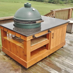 Big Green Egg Table -- The Big Dugan - Brent Hampton