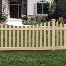 Traditional Home Fencing And Gates by ActiveYards