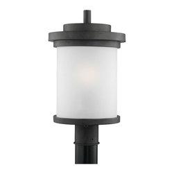 Sea Gull Lighting - Sea Gull Lighting 82660-185 Winnetka 1 Light Post Lights & Accessories in Forged - One Light Outdoor Post Lantern