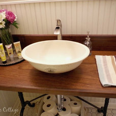 Farmhouse Powder Room Powder room remodel