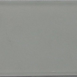 Tilesbay.com - Sample of 3X6 Crystallized Metalic Grey Glass Tile - Metallic Grey 3X6 Crystallized Subway Glass opens up tons of designs for you to create. Grey look is one of the most elegant looks out there today. Please keep in mind that a typical size of sample is 4x4 or 6x6.