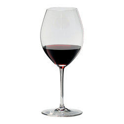 Riedel - Riedel Sommeliers Hermitage Wineglass - Does wine actually taste better from lead crystal stemware? You may never know the answer, but you'll certainly enjoy the quest with these simply lovely glasses.
