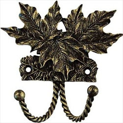 Sierra Lifestyles Decorative Hook - Maple Leaf - Bronzed Black - Get Idea About Sierra Lifestyles Decorative Hook - Maple Leaf - Antique Brass. Sierra Lifestyles  Cabinet Hardware, Cabinet  Knobs, Cabinet Pulls , Switch plates, Rustic cabinet hardware, Double Hook, Hook, Decorative Hook, Knobs, Pulls and Decorative Hardware Accessories