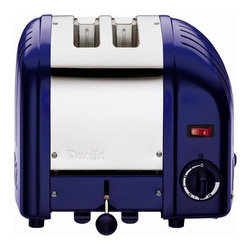 Dualit Classic 2-Slice Toaster, Cobalt Blue - Need to upgrade your toaster? This snazzy box will not only provide an update, but also create conversation.