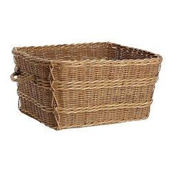Jacquelyne Basket - This basket is similar to the one that I use next to the dryer in my laundry room. You can never have too many baskets.