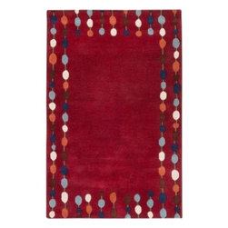 Surya - Area Rug: Paule Marrot Red 5' x 8' - Shop for Flooring at The Home Depot. Inspired by the French textile artist, the Paule Marrot collection artfully translates the ideals of its namesake to create beautiful rugs. Marrot's fresh, colorful, spontaneous designs have always been synonymous with a wonderful sense of joie de vivre. Add these beautiful pieces to your room for that perfect finishing touch.