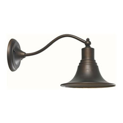 """World Imports - World Imports WI9098 1 Light 8"""" Height Outdoor Wall Sconce from the Dark Sky Kin - Dark Sky Kingston Collection 1 Light 8"""" Height Outdoor Wall SconceThe Dark Sky Kingston Outdoor Collection features aluminum and brass construction. Dark Sky compliant. Use indoors or out.Features:"""
