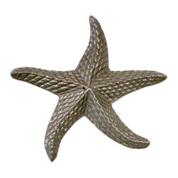 Cast Iron Starfish Door Pull - Amazing Starfish door pull from the new Nature Collection by First Impressions. Made from heavy Cast Iron and finished in your choice of ultra durable Powder Coated colors.