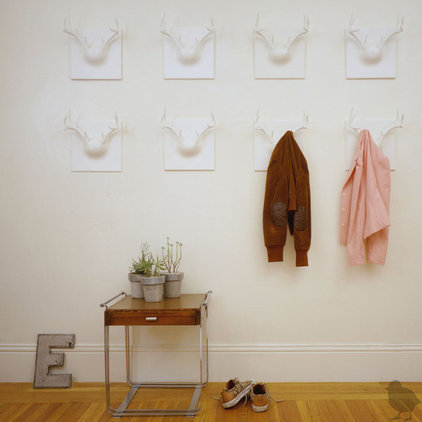 Eclectic Hooks And Hangers Erich Ginder Ghost Antlers