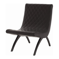 Danforth Chair, Black By Arteriors