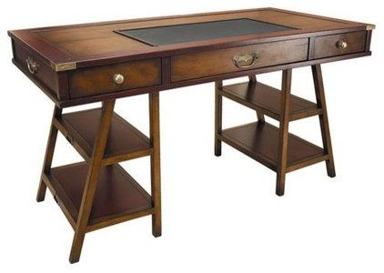 Traditional Furniture Navigator's Desk