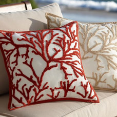 Eclectic Outdoor Cushions And Pillows by Pottery Barn