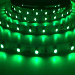 Green Indoor - LED Light Flexible Strips DEMASLED - www.demasled.us (SMD3528 FLEXIBLE STRIP - 300LED/16.4ft - Green )