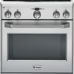 GE Monogram ZDP304PSS 30&quot; Pro-Style Dual-Fuel Range with 4 Sealed Dual Flame Sta