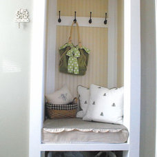 traditional closet by The Shabby Nest